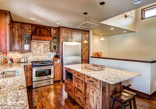 203 Arrowhead Kitchen - Arrowhead Village